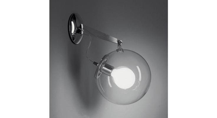Настенные светильники Artemide Светильник настенный накладной MICONOS PARETE A020100