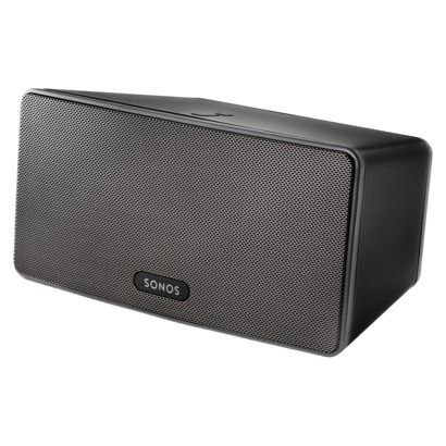 SONOS PLAY:3 Wireless HiFi System - Black. $299 Streams music from our iDevices easily. Can't wait to do this when we makeover the living room.