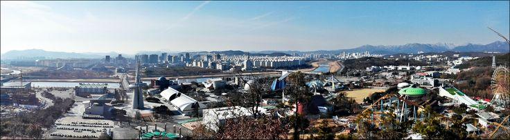 2014. 2/11 우성이산에서 바라본 갑천. 그리고 유등천. http://www.ggilbo.com/news/articleView.html?idxno=131232