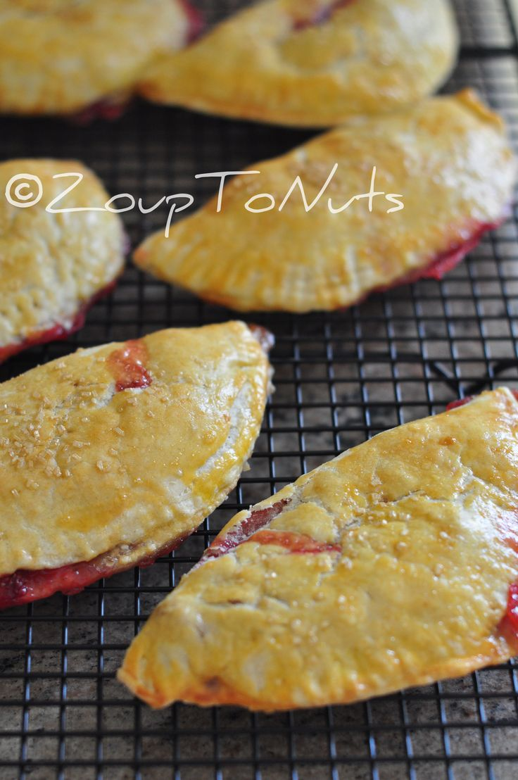 strawberry hand pies - these were easy to make and even easier to eat ...