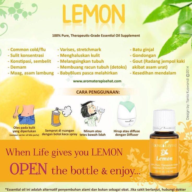 Manfaat Lemon EO