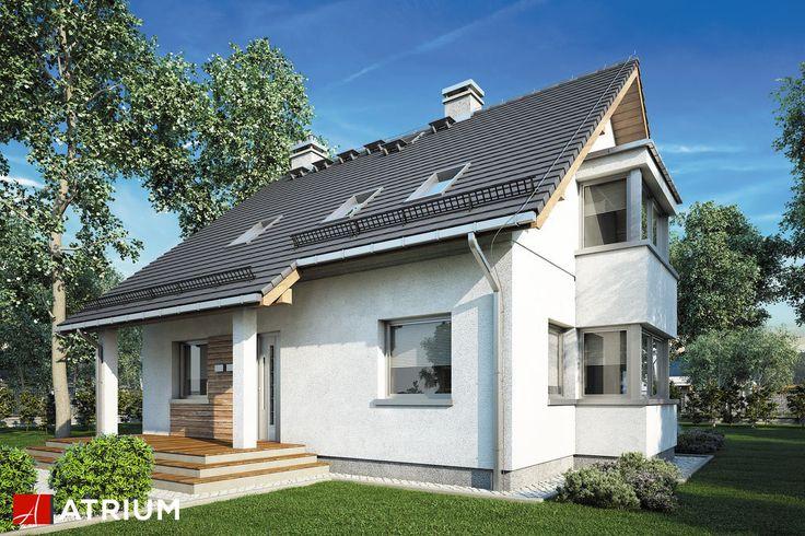 Projekt Kombi - elewacja domu