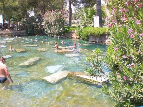 Kusadasi, Turkey: Cleopatra's fountain