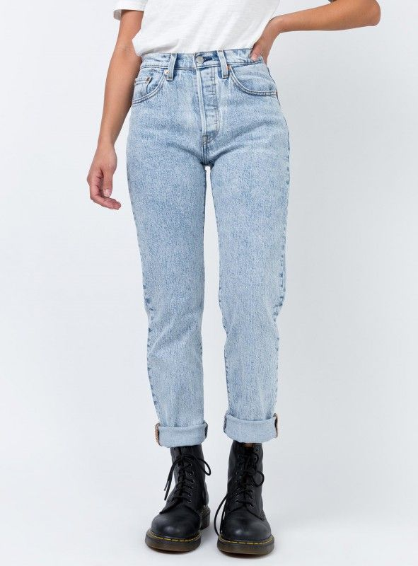 4d8c05939e8a Levi's 501 Crop Jeans Stone Throw | Princess Polly | d e n i m in ...