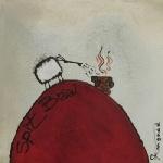 Spit Braai. Art for Ewe