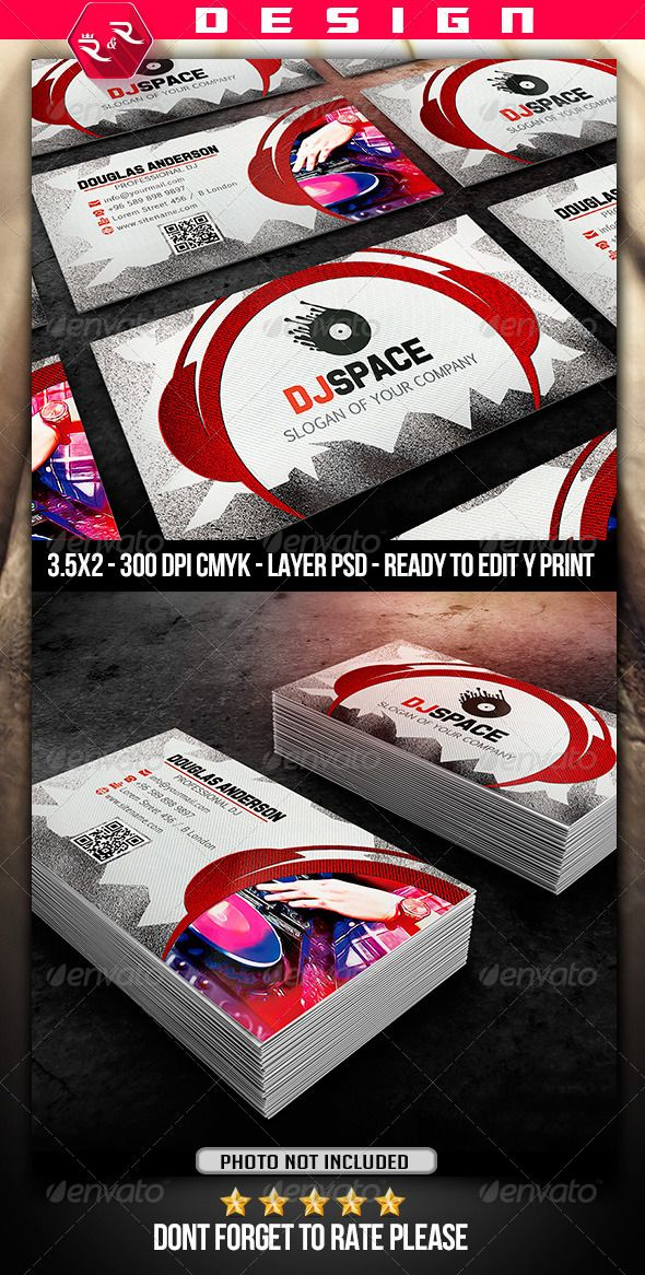 17 best DJ business cards images on Pinterest | Dj business cards ...