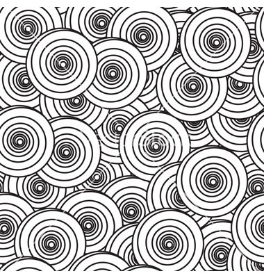 Abstract background with spiral circles vector art - Download ...