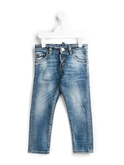 'Cool Guy' distressed jeans