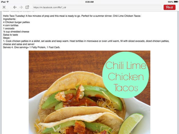 115 best food lovers fat loss images on pinterest food lovers chili lime tacos forumfinder Choice Image