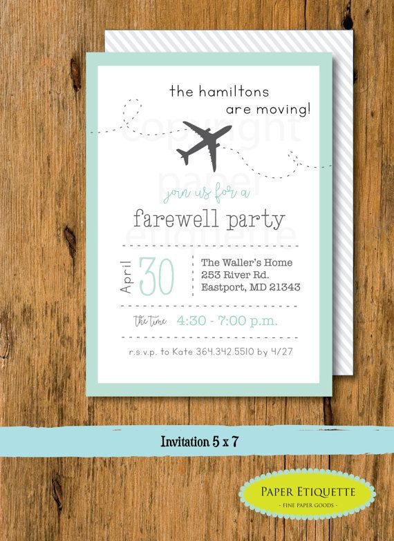 Going Away Party, Moving Party Invitation, Beer Packing Party, We Are Moving Party, Moving Away Party,New Address Party,Moving Packing Party