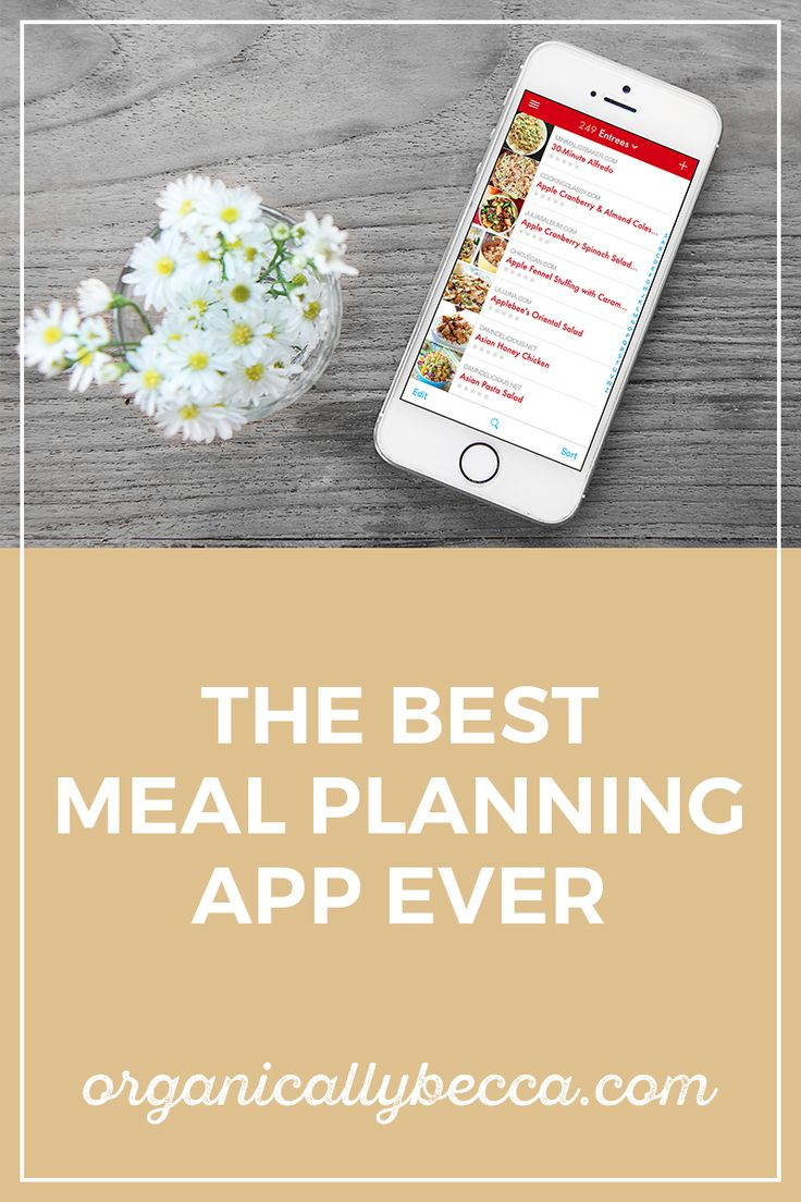 How to make your life 10x easier with this grocery list and meal planning app.