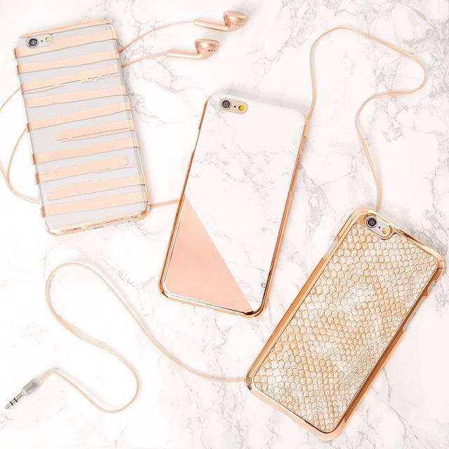 Glam up your #TechTuesday with our super cute rose gold cases  http://amzn.to/2u7Lk8P
