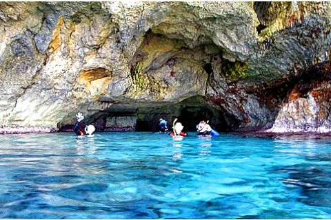 "Scuba diving trip in the ""Pirate Cave"" in the East of Majorca"