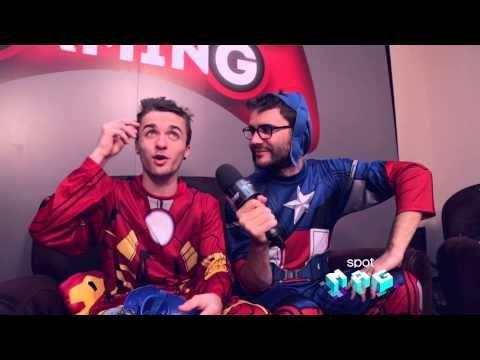 Spot Mag 77 - Disney Infinity 2.0 avec Squeezie et Cyprien & Kedj dans le Digital Spot - YouTube