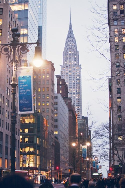 My favourite building in the World.....The beautiful Chrysler Building