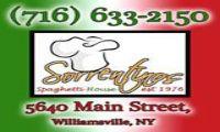 Sorrentino's Spaghetti House :: Menu Venue