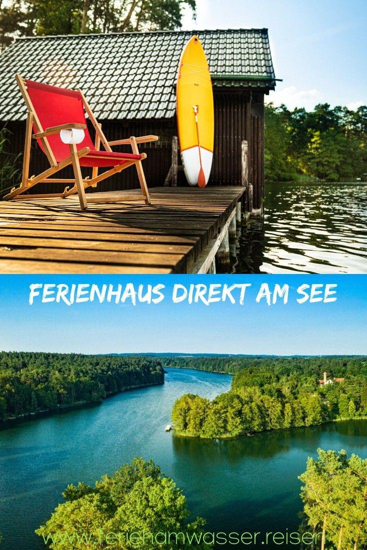 Ferienhaus Mit Sauna Direkt Am See Mit Kamin Urlaub Am See Urlaub In Deutschland Ferien
