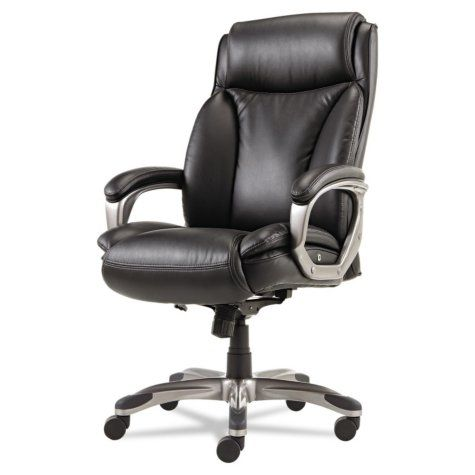 Alera Veon Series Executive High Back Leather Chair Select Colors