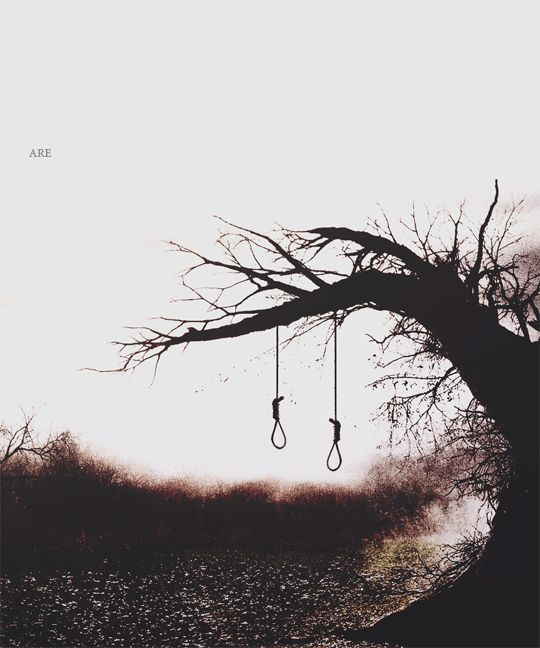 """"""" Strange things did happen here, No stranger would it be, If we met at midnight in the hanging tree... """""""