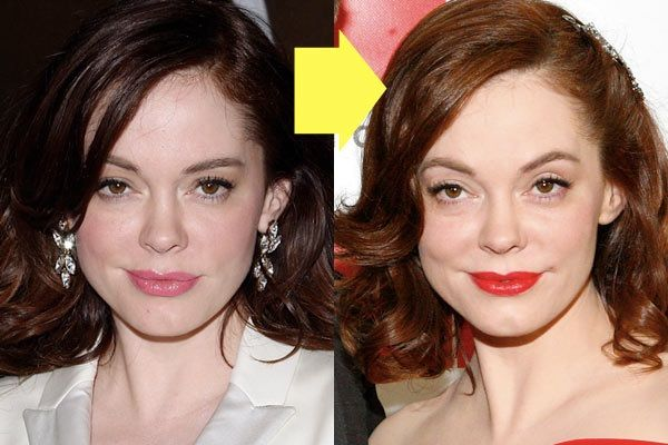 rose mcgowan plastic surgery face rose mcgowan plastic surgery face
