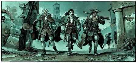 Le Scorpion, T10 - Au Nom du fils - Par Marini et Desberg - Dargaud - Actua BD: l'actualité de la bande dessinée