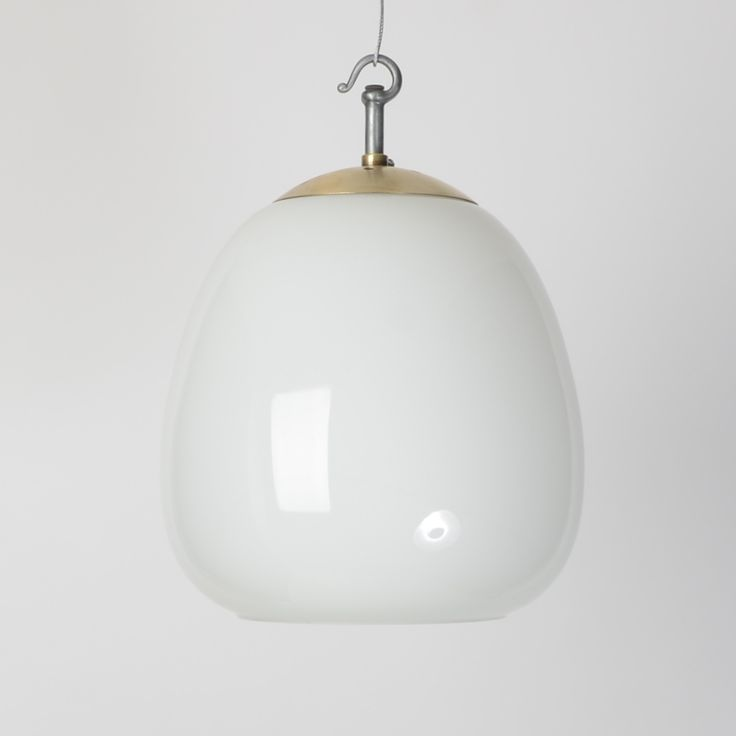 Trainspotters co uk glass opaline pendants with brass fittings vintage lighting