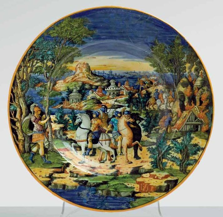 Image result for Urbino majolica