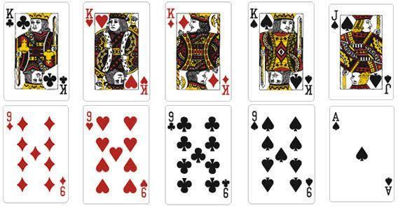 Playing Card Vector Template Printable Playing Cards Printable Cards Custom Playing Cards