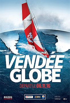 affiche officielle Vendée Globe