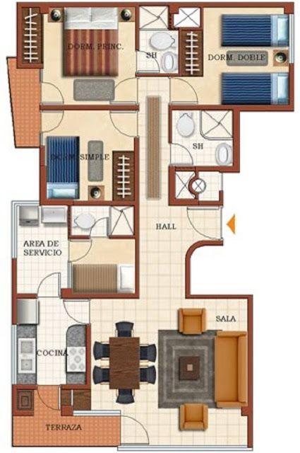 17 mejores ideas sobre planos de planta en casa en for Planos para remodelar mi casa