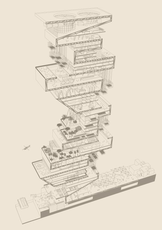 Permanent Sketch Book: 216 Best Images About Exploded Axonometric -architectural