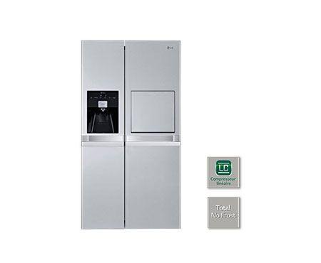 Réfrigérateur Américain | 540L | Compresseur Linéaire Inverter | No Frost | A+ | Poignées horizontales