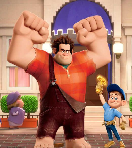 Wreck-it Ralph and Fix-it Felix, Jr.