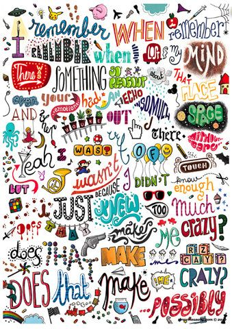 Doodle fonts & lettering