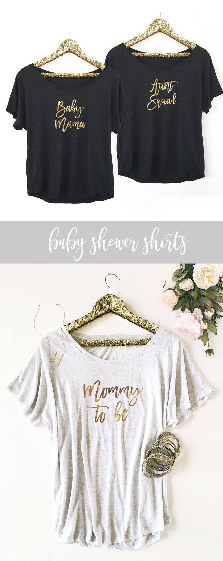 Baby Shower Shirt Ideas For Aunts : shower, shirt, ideas, aunts, Custom, Shirt, Godmother, Shirts,, Shirt,
