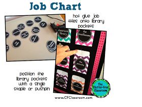 Clutter-Free Classroom: Tips for Creating and Managing Classroom Jobs {job charts, student jobs, classroom management}