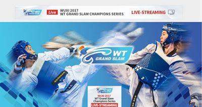 Τρίτο κατά σειρά World Taekwondo Grand Slam Champions Series σε ζωντανή μετάδοση στο Wuxi,China 2017