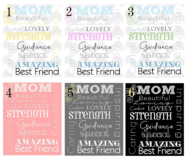 free mothers day subway art printables
