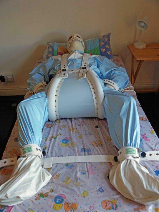adult baby diaper restraint