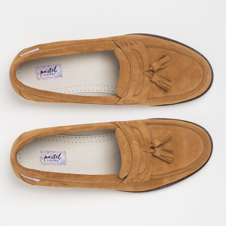 Show off your charming side with the warm tones of our Madrid loafer for  only £