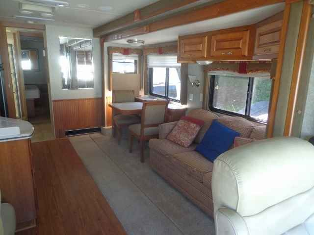 2006 Used Holiday Rambler Vacationer 34PDD Class A in New York NY.Recreational Vehicle, rv, 2006 Holiday Rambler Vacationer - 2 slide-outs - Vin# 1RF31326662040361 - GVWR 22000lbs - Miles:14628 Cummins Diesel Engine 300 HP- Generator: Onan Quyet Diesel 5500 with 68 Hours - Automat Transmission with Exhaust Brake - Goodyear Tires 235/70R22.5 - Power Mirror Heated - Power Shade Driver and Passenger Side - Cruise Control- Telescope and Tilt Wheel - Power Driver and Passenger Seat - Back-up…