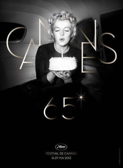 2012.The year 2012 marks the 50th anniversary of the death of Marilyn Monroe. The Cannes Film Festival pays homage to her by dedicating his poster and offer a candle blown by Marilyn for his 65th birthday