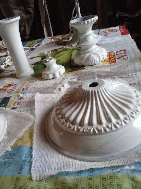 shabby chic lampadario : ... Shabby Chic su Pinterest Lampadario vintage, Lampade shabby chic e