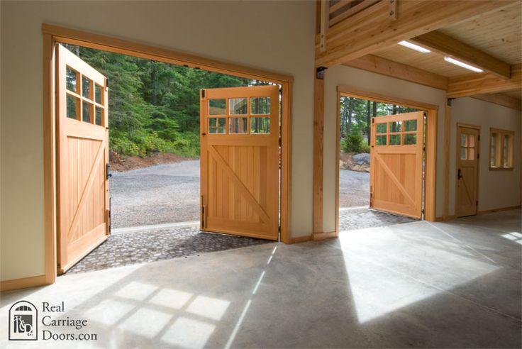 17 Best Images About Real Carriage Doors On Pinterest