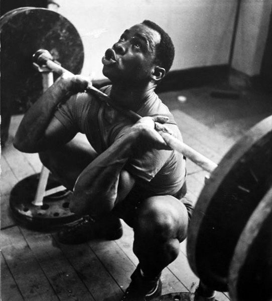 Louis Martin, Olympic Weightlifter  1960