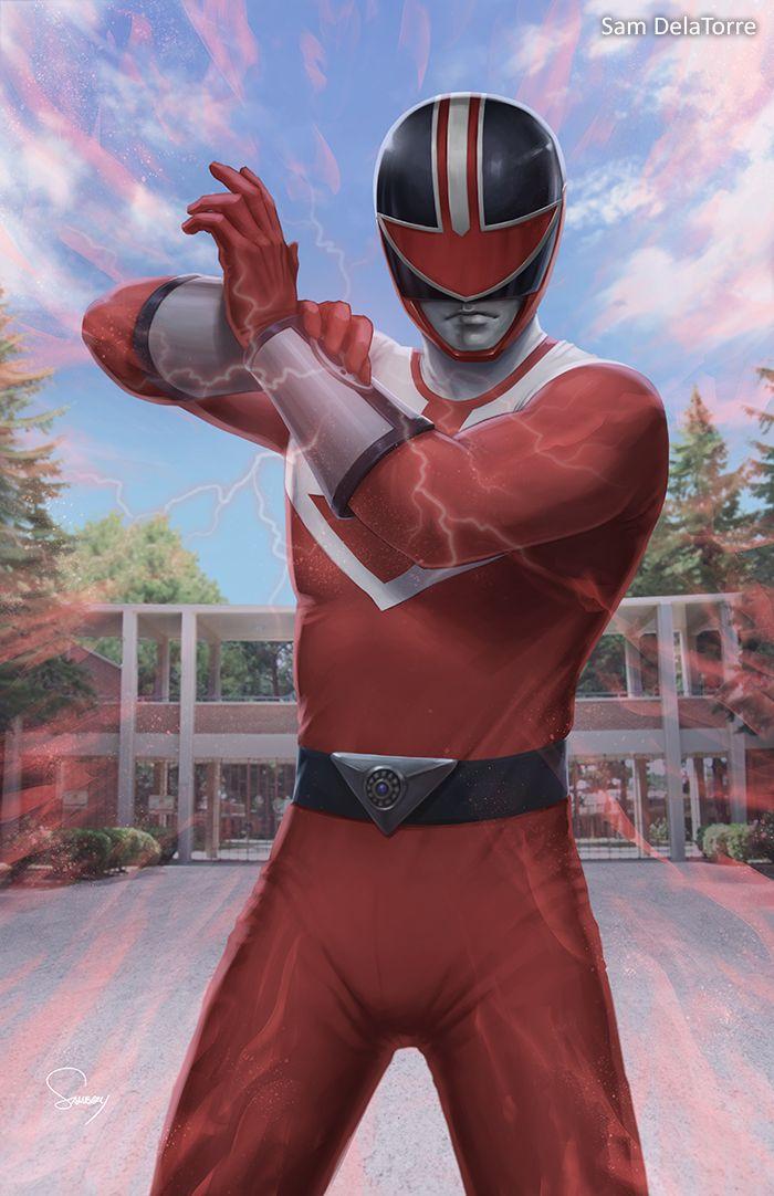 Power Rangers (Time Force) - Red Ranger by SamDelaTorre
