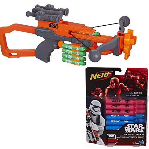 Star Wars Nerf Episode VII Chewbacca Bowcaster with Extra Dart Refill @ niftywarehouse.com #NiftyWarehouse #Geek #Products #StarWars #Movies #Film