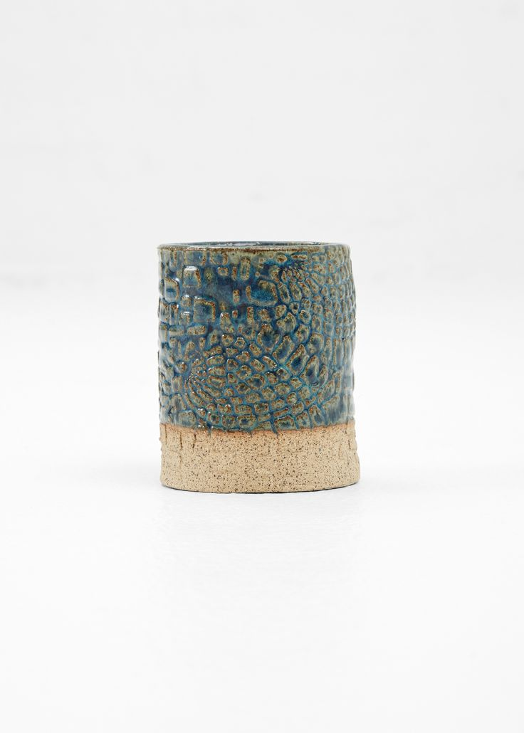 http://art-object.totokaelo.com/demetria-chappo-ceramics/city-and-sea-cylinder-planter/gulf-shores/L14D61