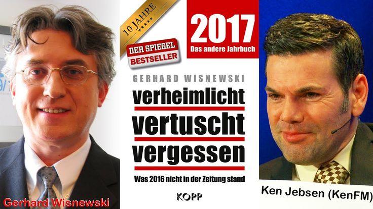 """Gerhard Wisnewski (""""Verheimlicht, Vertuscht, Vergessen 2017) - KenFM im ..."""