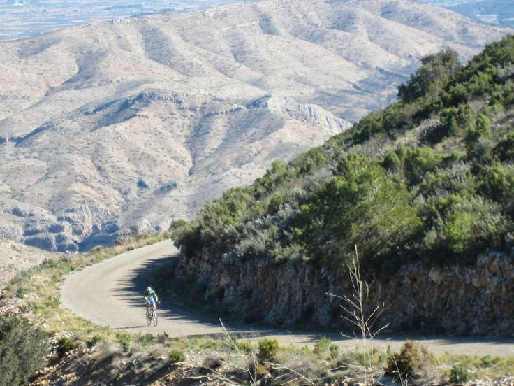 Alto de La Marjana, Gestalgar, Valencia region. Distance 11,96 km, altitude:760m, average gradient: 5,2%.  http://www.cyclefiesta.com/bicycle-rental.htm